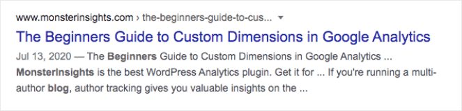 """The Beginners Guide to Custom Dimensions in Google Analytics"""