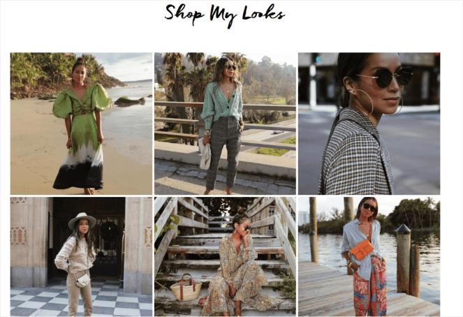 A fashion blog takes their own photos to boost image SEO