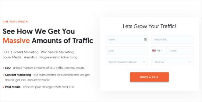 book-a-call-landing-page