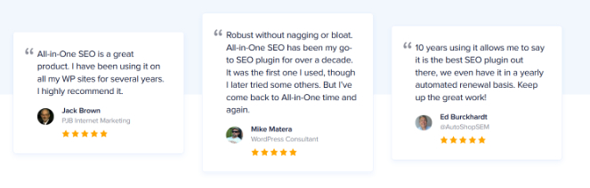 add testimonials on your landing page to boost conversions