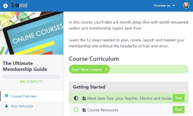 MemberPress membership plugin offers online courses