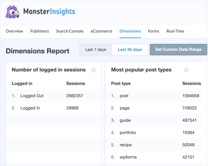 how-to-see-analytics-on-wordpress-custom-dimensions