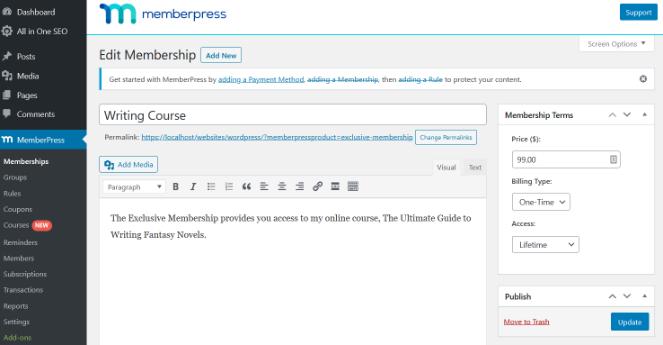 edit-membership-course-page