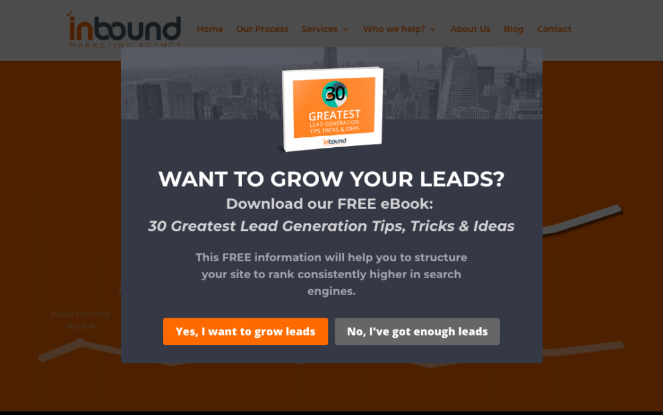 ebook lead magnet example from inbound marketing agency