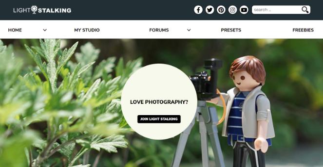 Start a photography blog
