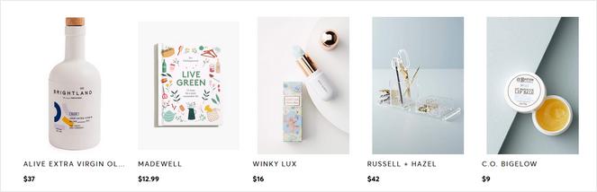 produits d'affiliation sur un blog lifestyle