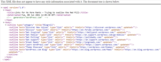 Download OPML file