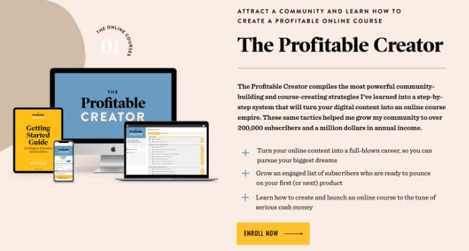 les blogueurs créent et vendent des cours en ligne