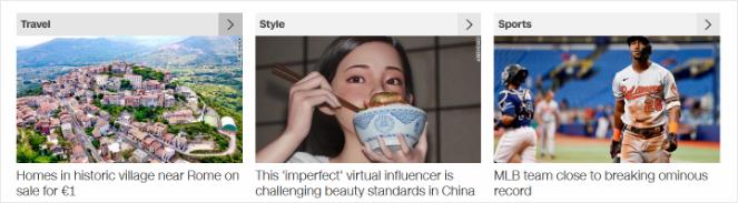 news headline examples
