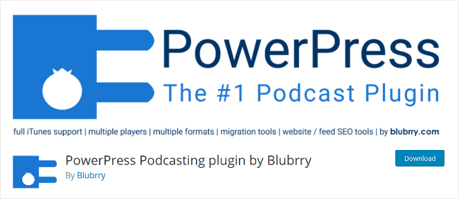 powerpress podcast plugin for wordpress