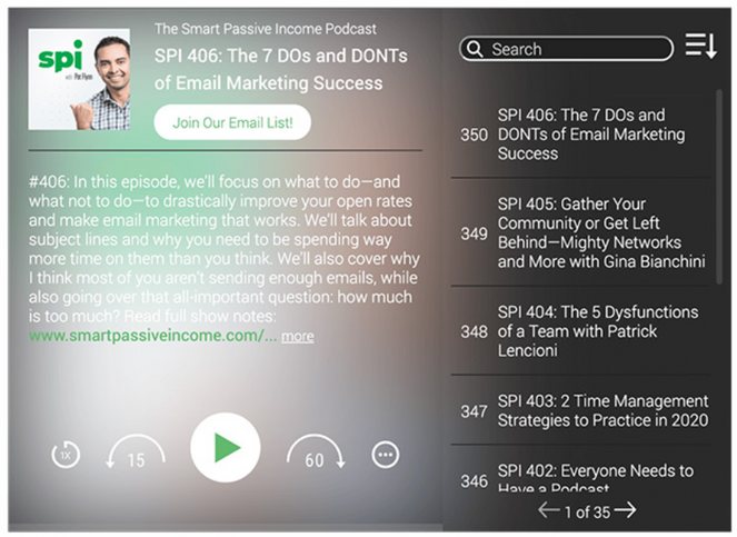 published podcast on wordpress with fusebox