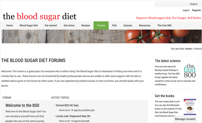 exemple de forum de blog